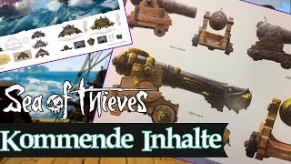 Download Sea of Thieves NEWS: 8 kommende Inhalte / Neue Kanonen / Weltevents / Neue Gegner....etc Video