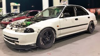 Download Turbo Honda's and BMW Pick on GTR! Video