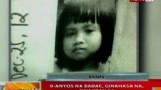 Download BT: 9-anyos na babae sa Dasmariñas, Cavite, ginahasa na, sinaktan pa Video