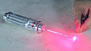 Download Testing Burning Laser Pointer 1W 650nm Video
