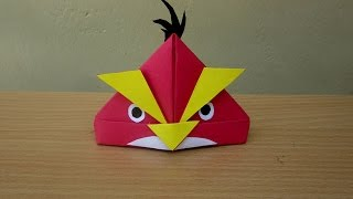 Download How to Make a Paper Angry Bird - Easy Tutorials Video