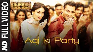 Download 'Aaj Ki Party' FULL VIDEO Song - Mika Singh | Salman Khan, Kareena Kapoor | Bajrangi Bhaijaan Video