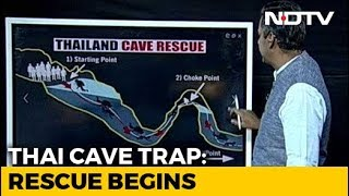 Download Watch: A Breakdown Of Rescue Team's Plan To Evacuate Thai Boys From Cave Video