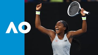 Download Naomi Osaka vs Coco Gauff - Match Highlights (3R) | Australian Open 2020 Video