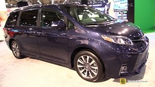 Download 2018 Toyota Sienna LTD AWD - Exterior and Interior Walkaround - 2017 NY Auto Show Video