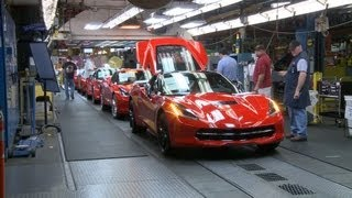 Download Chevrolet Corvette PRODUCTION Video