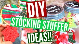 Download DIY STOCKING STUFFERS | Easy & Affordable Stocking Stuffer Ideas!! Video