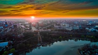 Download Floating on Air - Bucharest by Drone Video