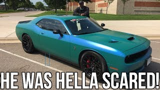 Download My Boss Finally Drives My Hellcat!! He Was Terrified Again 🤣🤦🏽‍♂️ Video