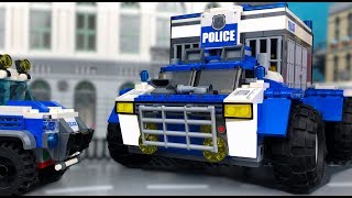 Download Lego Police Cross-Country Vehicle | OFF Road Monster 💰 Arrest of Robbers Video