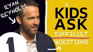 Download ″Why do you swear so much?!″: Kids Ask Ryan Reynolds Difficult Questions Video