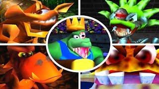 Download Donkey Kong 64 - All Bosses (No Damage) Video