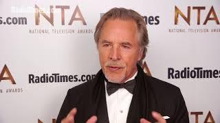Download Don Johnson Talks Miami Vice Versus Modern TV Cops at the NTAs 2018 Video