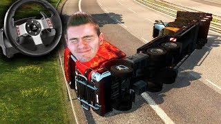 Download CAMINHÃO NOVO = ACIDENTE!!! (DEU RUIM) Euro Truck Simulator 2 Video