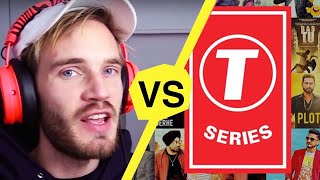 Download Not Your Average PewDiePie vs T-Series Video Video