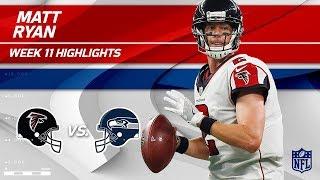 Download Matt Ryan Helps Lead Atlanta to Victory w/ 2 TDs! | Falcons vs. Seahawks | Wk 11 Player Highlights Video