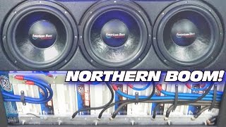 Download CLEANEST Sound System in The NORTH w/ 6 15″ Subwoofers & Custom Fiberglass Door Speaker Panels Video