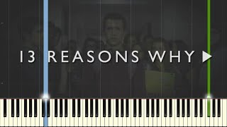 Download 13 Reasons Why - The Night We Met - Lord Huron [Piano Tutorial] (Synthesia) Video