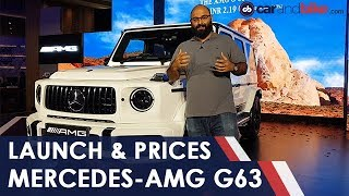 Download New Mercedes-AMG G63 In India: First Look | NDTV carandbike Video