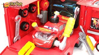 Download Learning Color Special Disney Pixar Cars Lightning McQueen Mack Truck Play Set for kids car toys Video