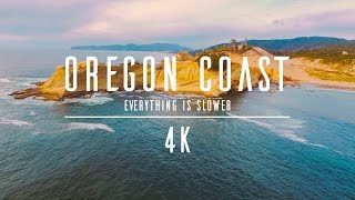Download 4K - Drone - Oregon Coast - Everything is slower Video