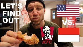 Download Is KFC in INDONESIA the same as AMERICA? Video