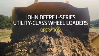 Download John Deere L-Series Mid-Size Wheel Loaders   Operation Video