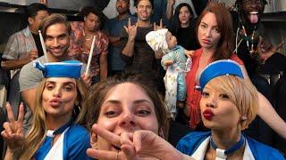 Download First Class vs Economy Flight   Hannah Stocking Video
