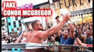 Download Fake Conor McGregor Pranks New York City! Video