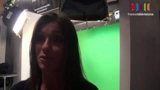 Download LeWeb 10 de France Télévisions : Miss météo France2 Tania Young sur le stand Video