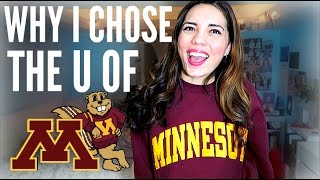 Download WHY I CHOSE THE UNIVERSITY OF MINNESOTA!! College of Liberal Arts // English Major Video