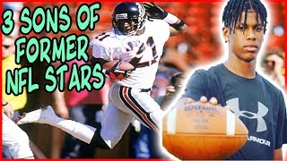 Download 3 Sons Of Former NFL STARS, Who Will Be Future COLLEGE FOOTBALL STARS!!! Video