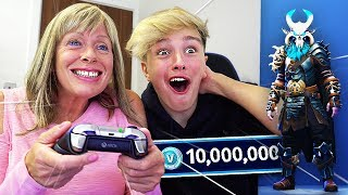 Download SURPRISING MORGZ WITH *NEW* $1000 FORTNITE SKIN!! (Fortnite Season 5 Ragnarok Skin) Video