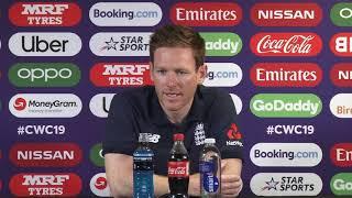 Download Eoin Morgan Speaks Ahead of Australia v England Semi-final Video