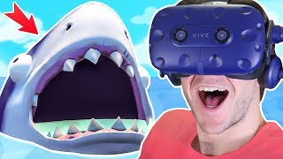 Download Can we CATCH THE SHARK and FIND the SECRET PHONE?! || Island Time VR HTC Vive Pro Gameplay Video