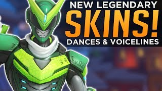 Download Overwatch: All NEW Skins & DANCES! - Voice Lines & Emotes! Video
