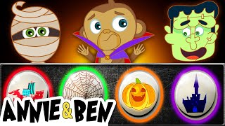 Download Halloween Funny Puzzle Game for Kids   Learn Colors with SPOOKY MONSTERS   Educational Videos Video