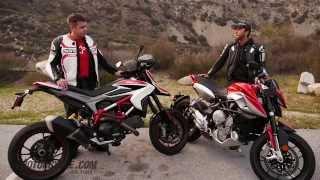 Download 2014 Ducati Hypermotard SP vs. MV Agusta Rivale Video