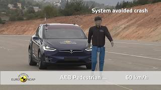 Download Euro NCAP Crash & Safety Tests of Tesla Model X 2019 Video