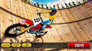 Download Bike well of dangerous race game || bike stunt racing game || bike racing games Video