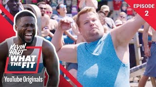 Download Muscle Beach With James Corden | Kevin Hart: What The Fit Episode 2 | Laugh Out Loud Network Video