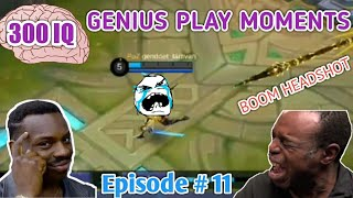 Download 300 IQ Genius Plays Moments Episode # 11 Mobile Legends LUCU |WTF|Funny| OMG| (Smartest Plays) Video