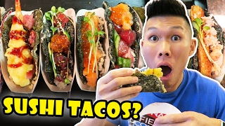 Download SUSHI TACOS: DIY Tasty & Incredible Street Food || Life After College: Ep. 530 Video