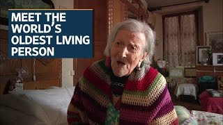 Download At 116, Emma Morano is the world's oldest living person Video