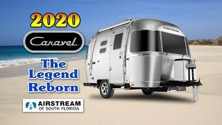 Download Airstream 2020 Caravel 16RB travel trailer Video