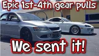 Download I Got Scared In My Own Car! Epic 1st-4th Gear Pulls and A New Daily! Video