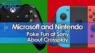 Download Microsoft and Nintendo Poke Fun at Sony About Crossplay Video