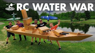 Download Largest RC Battleship VS RC Dive Bombers! Video