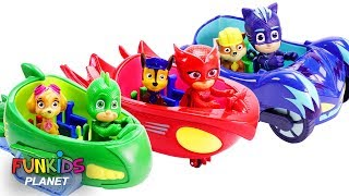 Download Cars: PJ Mask Rival Race Track with Paw Patrol   Fun Kids Toys Video