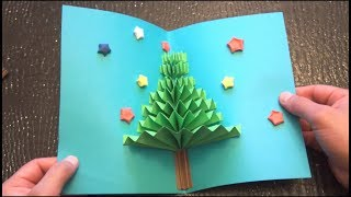 Download DIY 3D Christmas Pop Up Card | Very Easy | How to make | TCraft Video